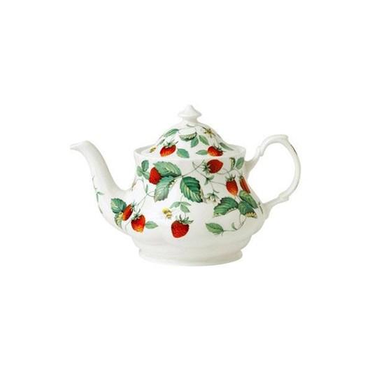 Roy Kirkham Alpine Strawberry Teapot Small