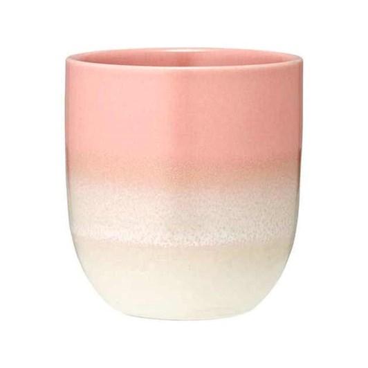 Ladelle Café Ombre Pink Tumbler