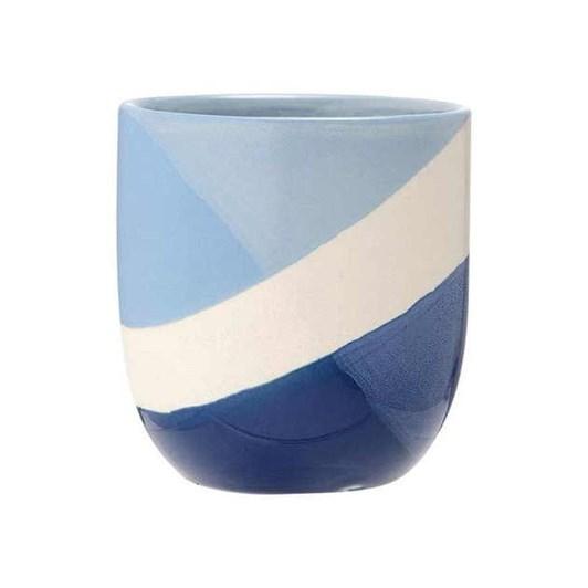 Ladelle Café Blue Splice Tumbler