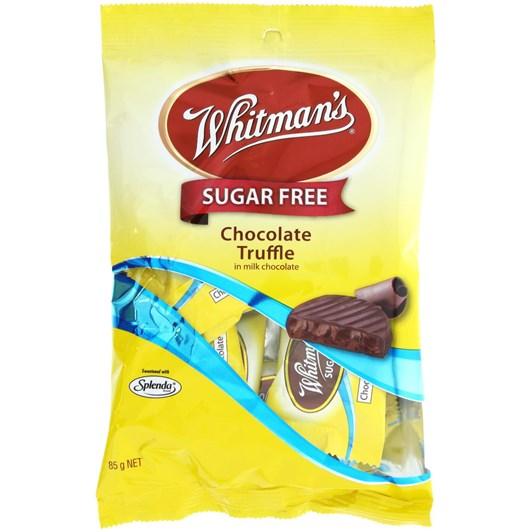 Whitmans No Sugar Added Chocolate Truffles - 85gm