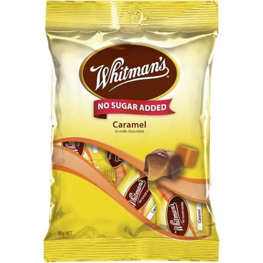 Whitmans No Sugar Added Caramel  - 85gm