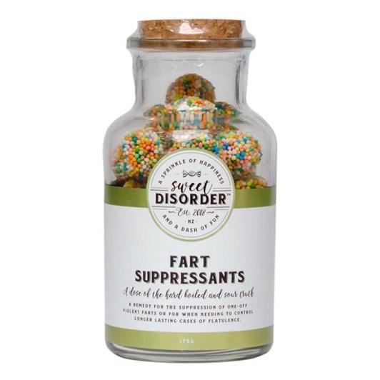 Sweet Disorder Fart Suppressants
