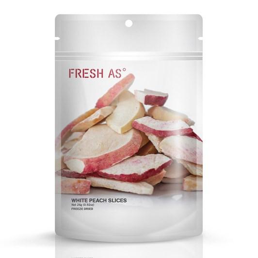 Fresh As White Peach Slice - 26gm