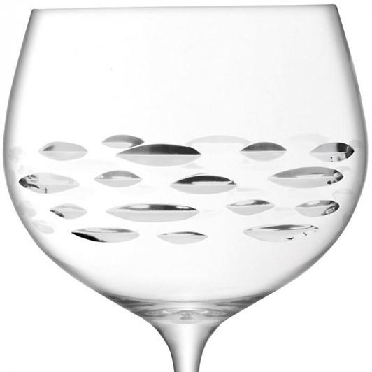 LSA Balloon Gin Glass x 2 Shoal Cut 680ml