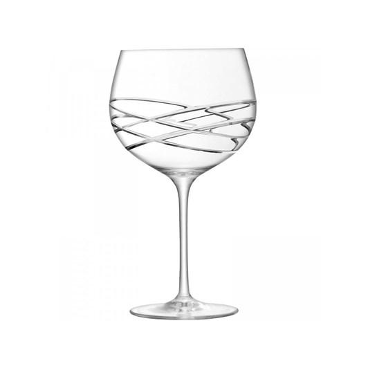 LSA Balloon Gin Glass x 2 Wave Cut 680ml