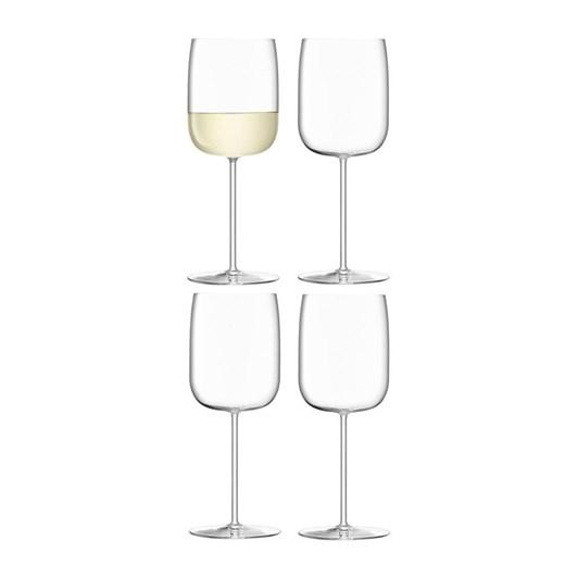 LSA Borough Wine Glass x 4 380ml