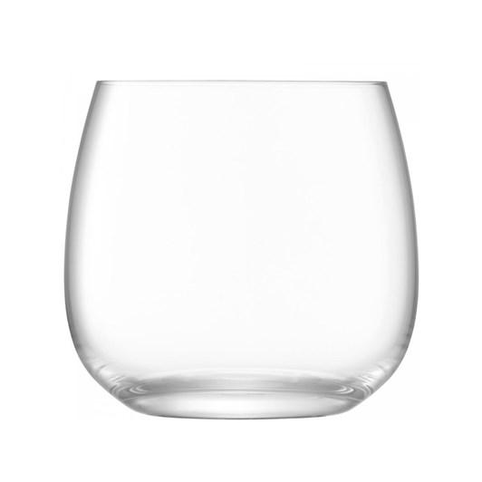 LSA Borough Stemless Glass x 4 370ml