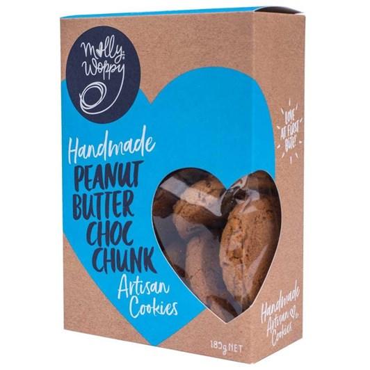 Molly Woppy Peanut Butter Choc Chunk - 185gm