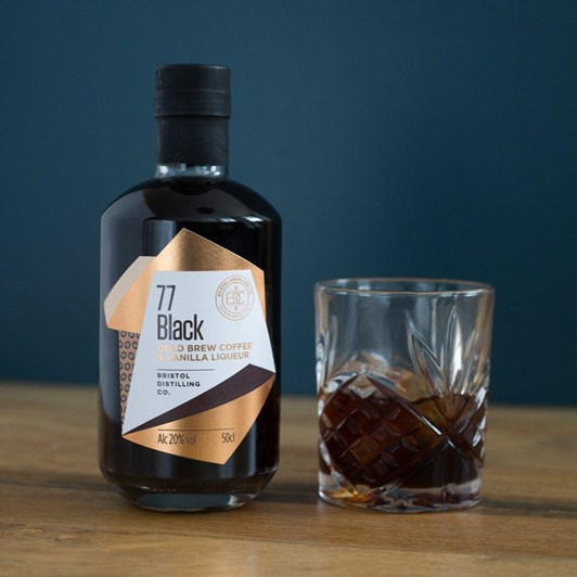 Bristol Distilling 77 Black Cold Brew Coffee And Vanilla Liqueur 500Ml