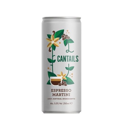 Cantails Espresso Martini 250Ml Can