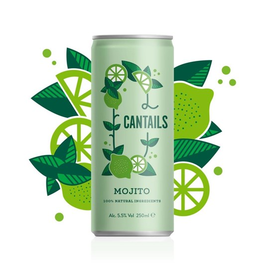 Cantails Mojito 250Ml Can
