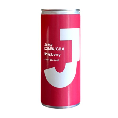 Jaar Raspberry Kombucha 250Ml Can