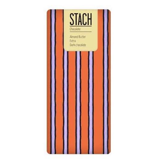 Stach Almond Butter Extra Dark Chocolate 130g