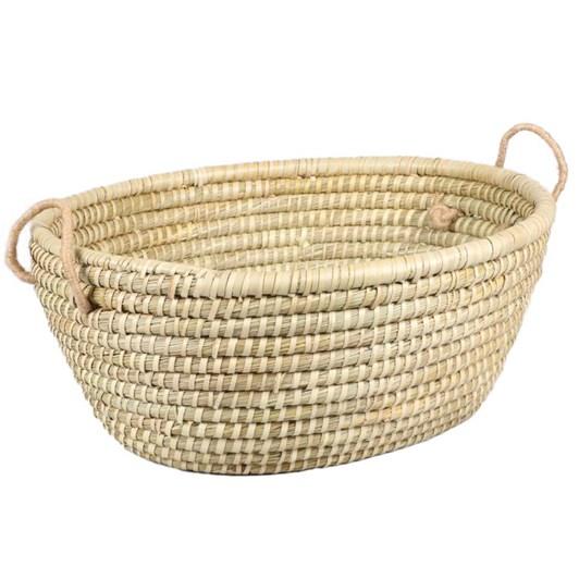 Trade Aid Oval Basket 50x40x20cm