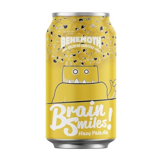 Behemoth 'Brain Smiles' Hazy Pale Ale 5.4% 330ml