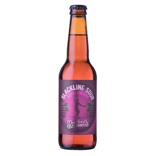 Baylands Brewery Slackline' Boysenberry Sour 4% 330ml