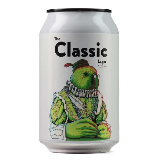 Double Vision Brewing 'The Classic' Lager 4.5% 330ml