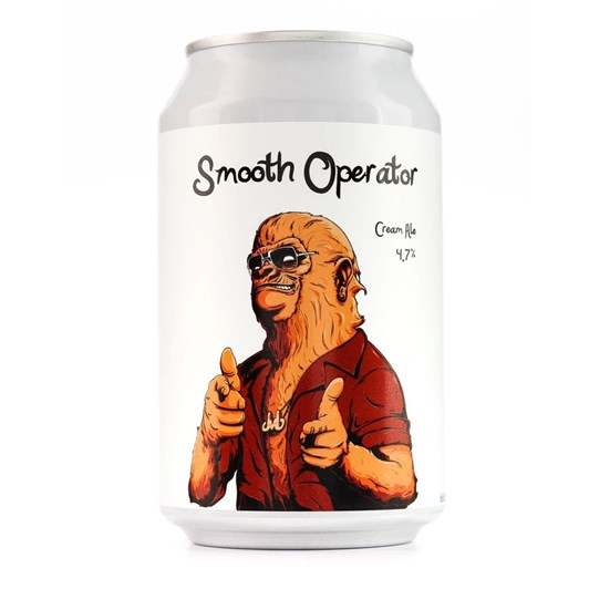 Double Vision Brewing 'Smooth Operator' Cream Ale 4.7% 330ml