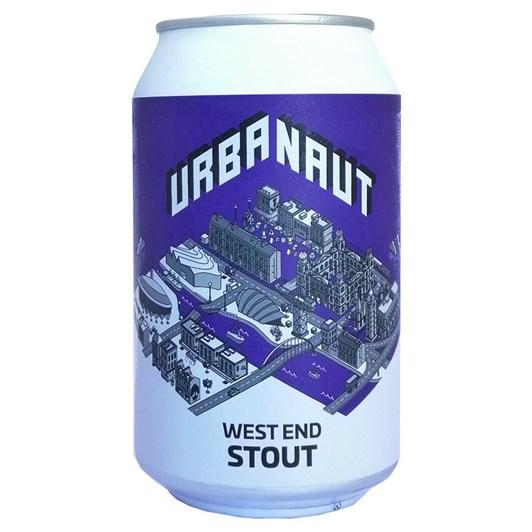 Urbanaut 'West End' Stout 6% 330ml