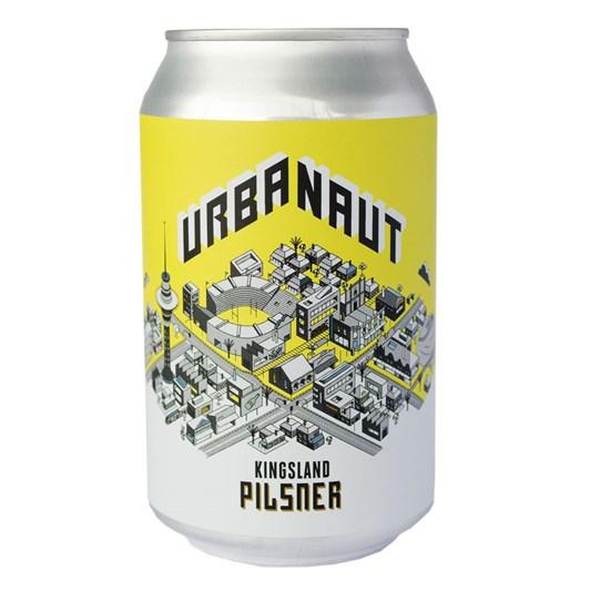 Urbanaut Brewing 'Kingsland' Pilsner 4.5% 330ml