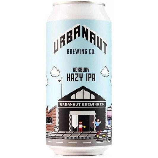 Urbanaut Brewing 'Roxbury' Hazy IPA 6% 440ml
