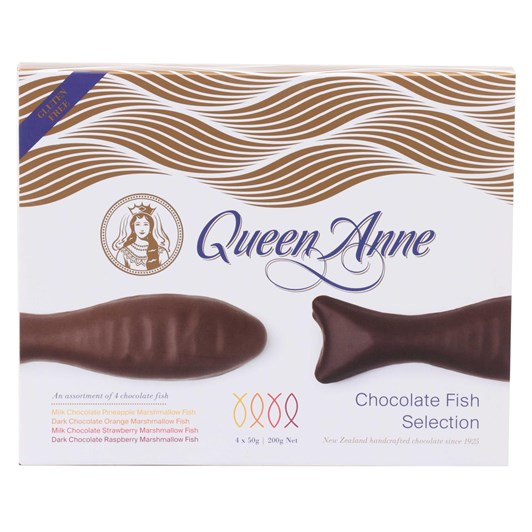 Queen Anne Chocolate Fish Selection 200g