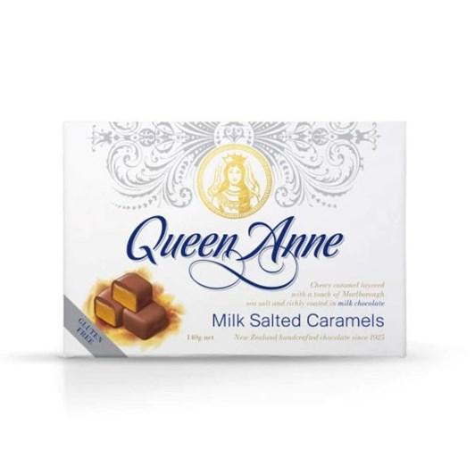 Queen Anne Milk Chocolate Salted Caramel - 140gm