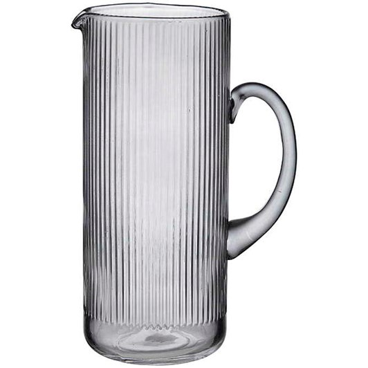 Ladelle Zephyr Ribbed Charcoal Jug