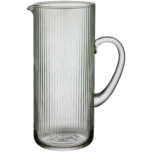 Ladelle Zephyr Ribbed Green Jug