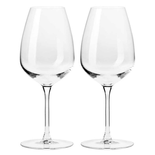 Krosno  Duet Wine Glass 460ml Set Of 2 Gift Boxed