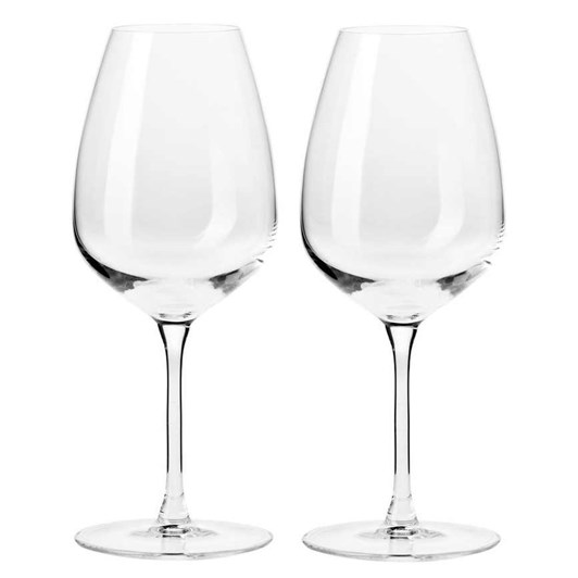 Krosno  Duet Wine Glass 580ml Set Of 2 Gift Boxed