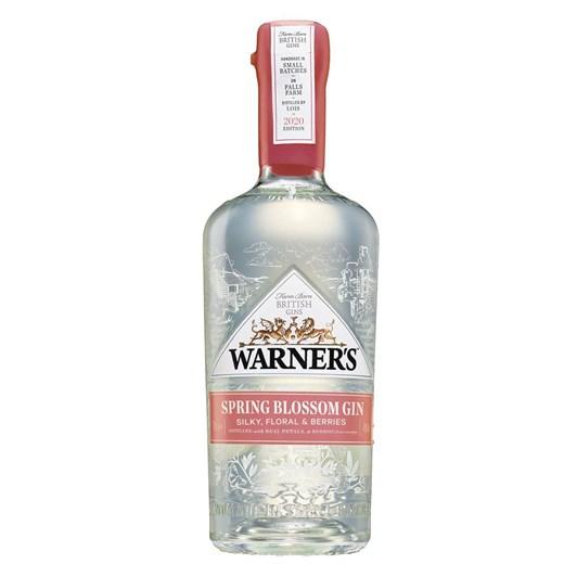 Warner's Spring Blossom Gin 40% 700ml