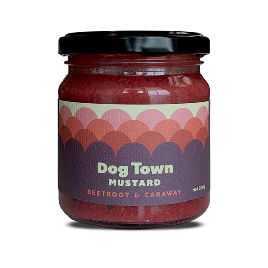 Dog Town Beetroot and Caraway Mustard 200g