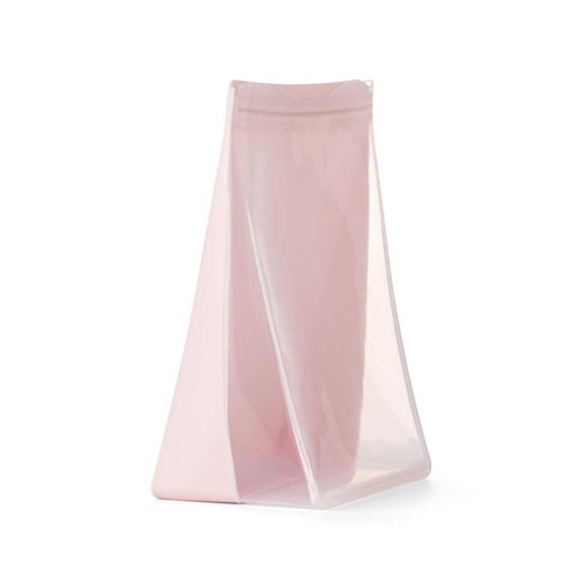 Porter Reusable Silicone Bag Stand Up 1.5L - Blush