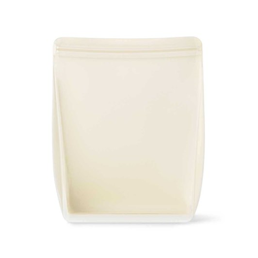 Porter Reusable Silicone Bag Stand Up 1.5L - Cream