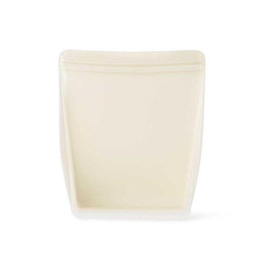 Porter Reusable Silicone Bag Stand Up 1L - Cream