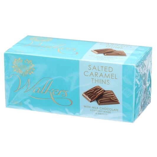 Walkers Milk Chocolate Salted Caramel Thins 135g