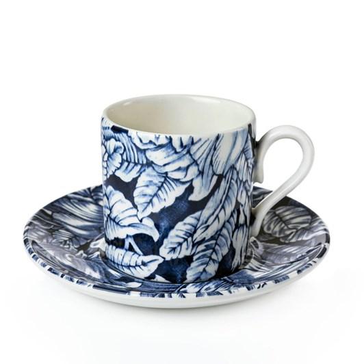 Burleigh Hibiscus Espresso Cup & Saucer 75Ml