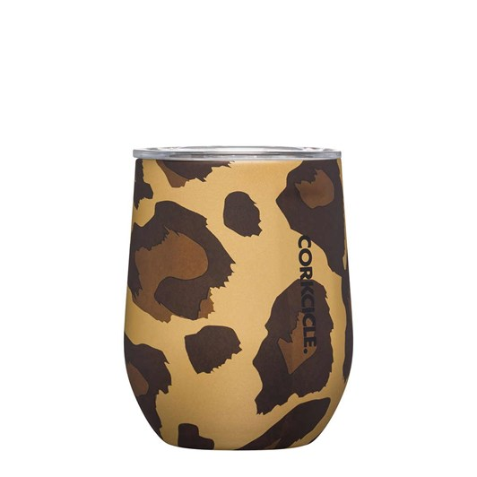Corkcicle Luxe Stemless Leopard 355ml