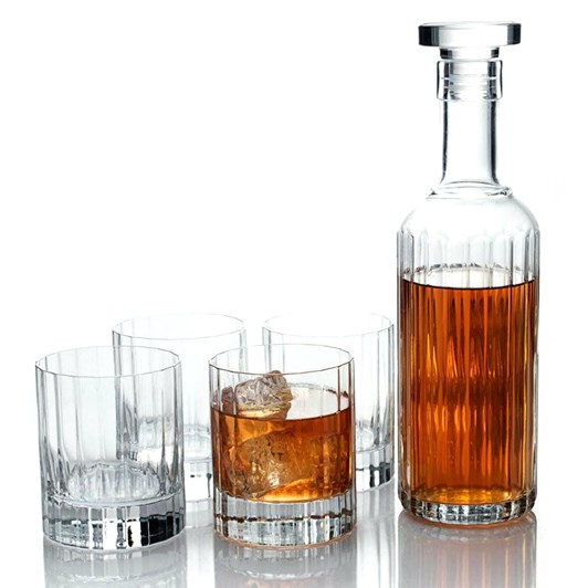 Luigi Bormioli Bach 5 Piece Whisky Set