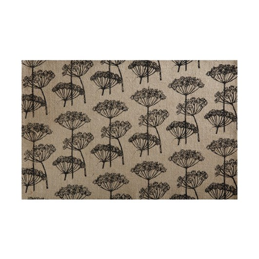 Maxwell & Williams Table Accents Burlap Placemat 45x30cm Black