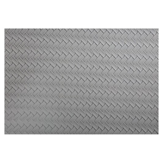Maxwell & Williams Table Accents Leather Look Placemat 43x30cm Grey Plait