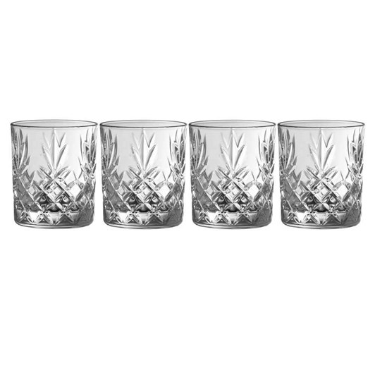 Galway Crystal Renmore D.O.F. Set Of 4