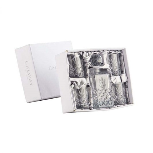 Galway Crystal Renmore Decanter Set