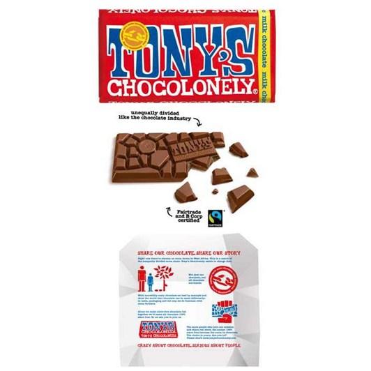 Tony's Chocolonely Milk Chocolate 180g