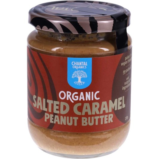 Chantal Organic Salted Caramel Peanut Butter 230g