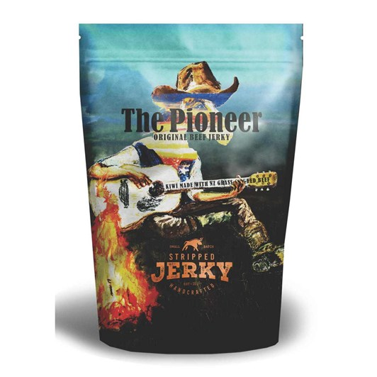 Stripped The Pioneer Traditional Style Jerky 80g