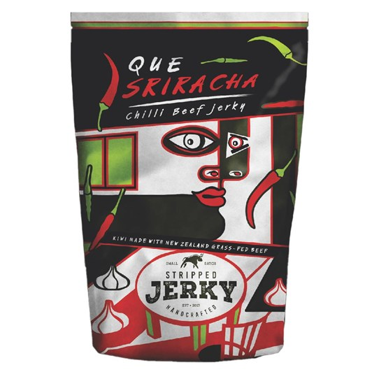 Stripped Que Sriracha Chilli Beef Jerky 40g