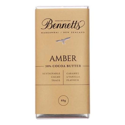 Bennetts Amber Chocolate 60g