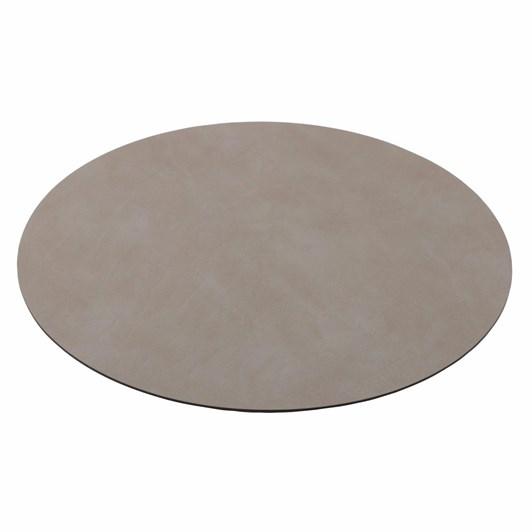 Lind Dna Table Mat Nupo Light Grey Circle M D:30Cm